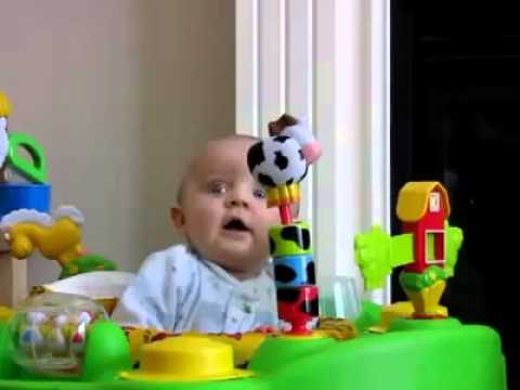 Funny Baby Video | Real Video of the Baby in Rock-Baby Troll