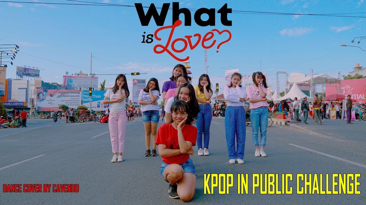 "[KPOP IN PUBLIC CHALLENGE] TWICE (트와이스) - ""What is love?"" dance cover by CAVENDO from Indonesia"