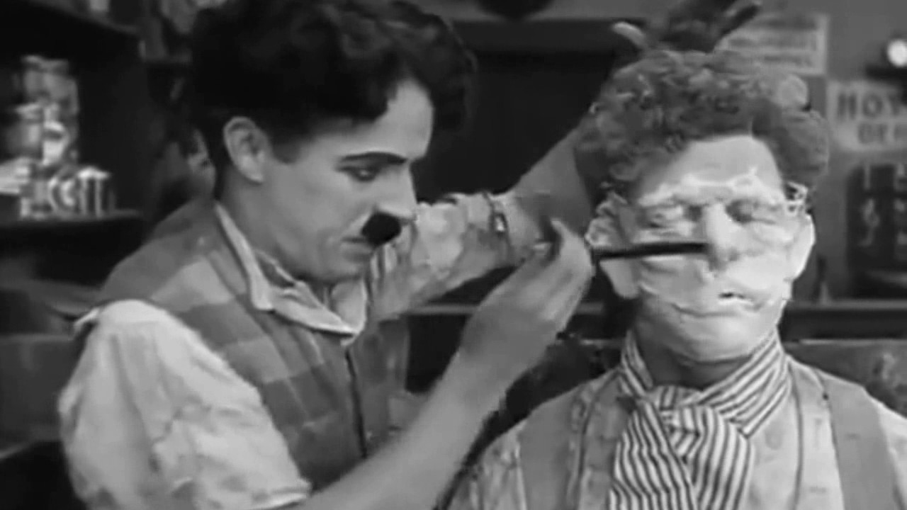 Charlie Chaplin Best Comedy Video As A Barber || Funny videos