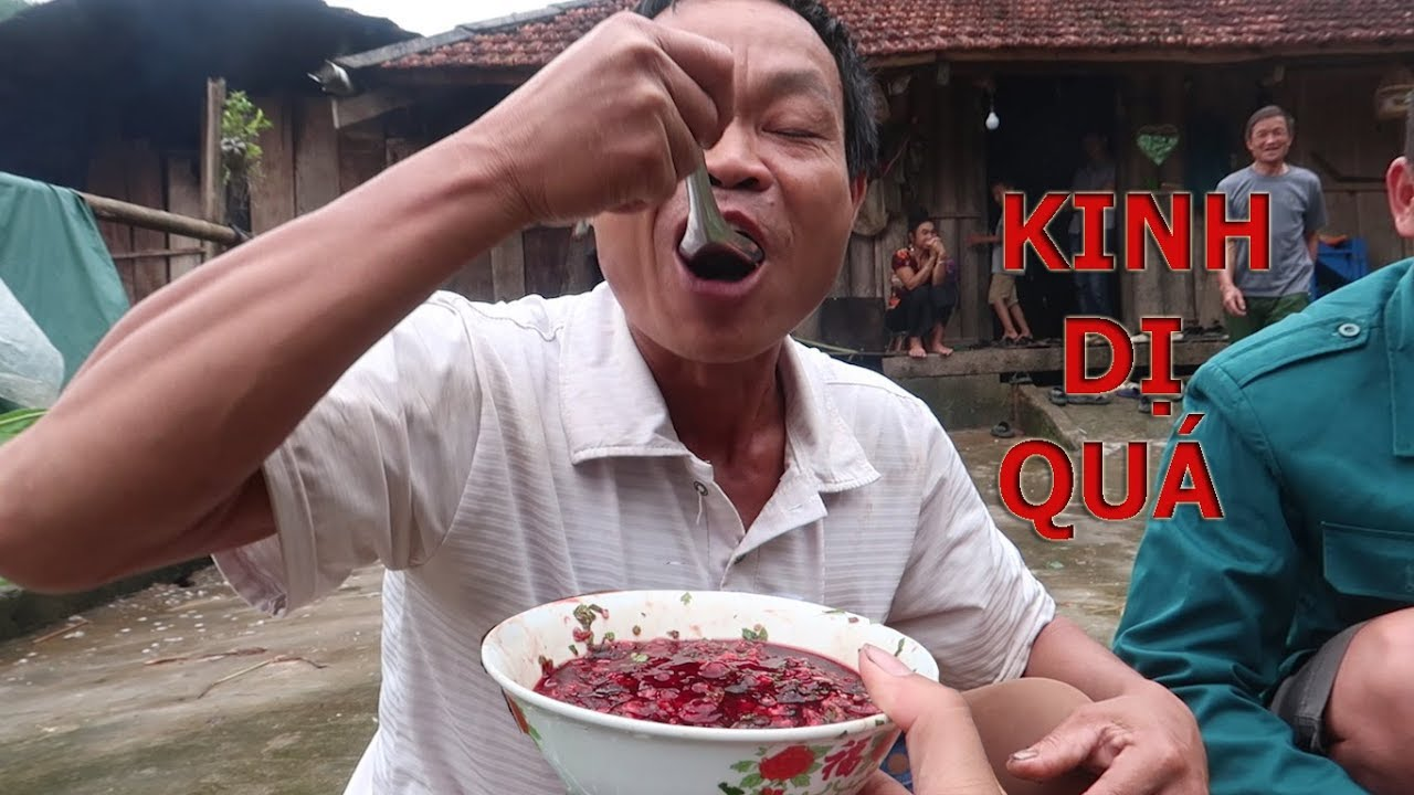 Tiết Canh Cá - Blood Pudding, People Eat Fish Alive | Most Disgusting Food On Earth