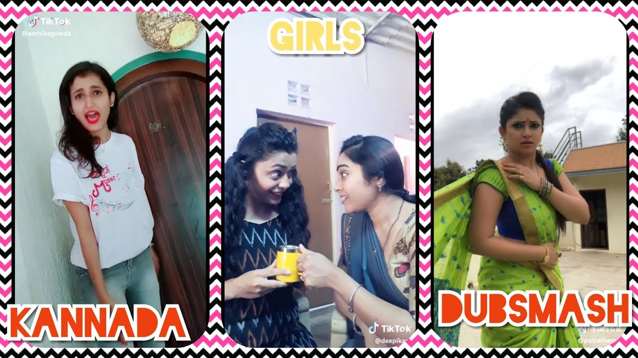 Kannada Girls in Musically | Kannada Dubsmash | Tik Tok Kannada 2018