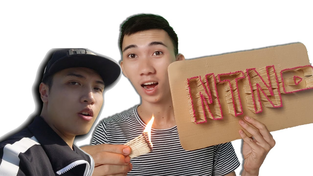Minh Trường | Thử Đốt NTN VLOGS 10.000 Que Diêm ( making and firing NTN VLOGS made from 10k Matches